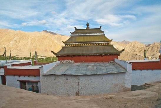 near-stupa