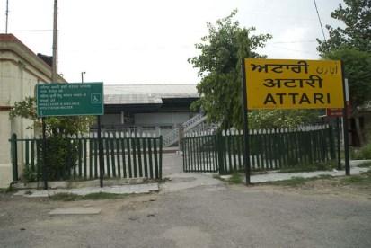 Attari railway station Amritsar