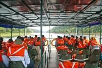 Boating in Periyar lake