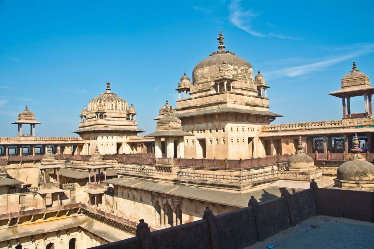 Orchha and It's Fort Complex