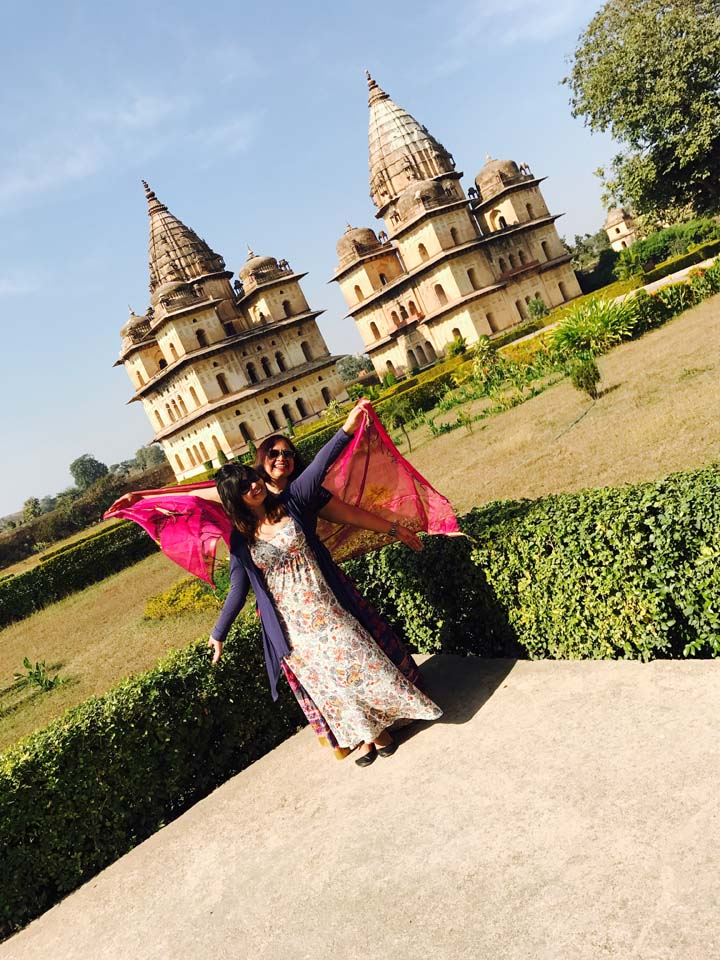 Orchha Cenotaphs – Picture Perfect