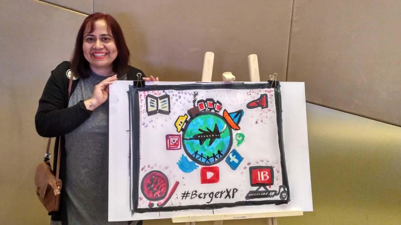 Faster-Cleaner-Better-#BergerXP IndiBlogger Meet