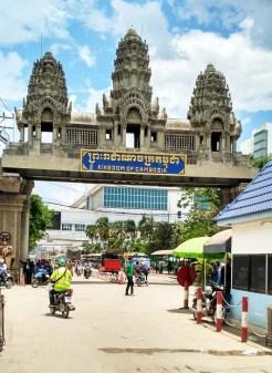 thailand cambodia border crossing