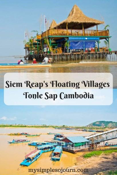 Siem Reap's Floating Villages - Tonle Sap Cambodia
