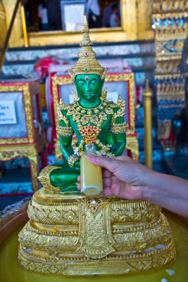 Statue of Buddha in Royal Palace of Bangkok