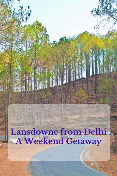 Lansdowne from Delhi