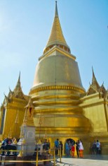 Golden Pagoda in Royal palace compound