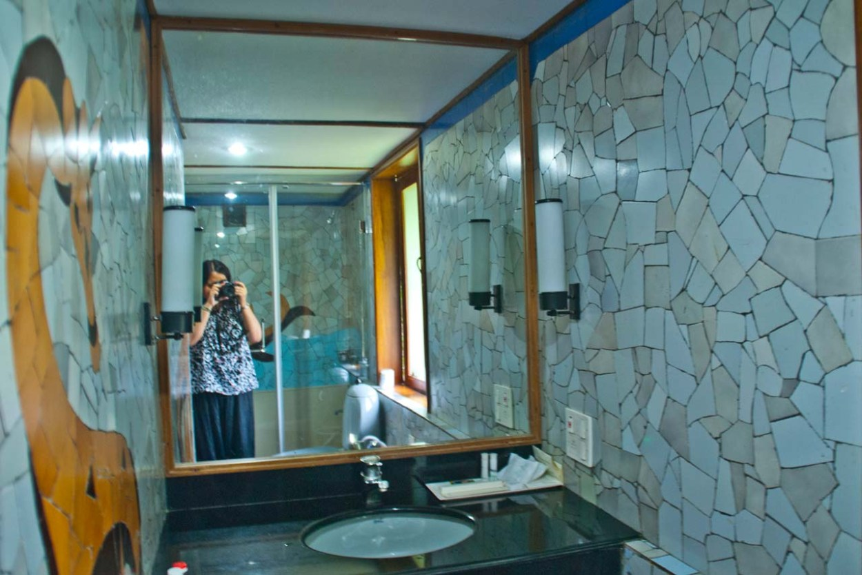 Bathroom in Waterscapes KTDC Backwater Resort