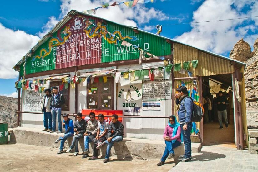 Canteen at Khardungla pass