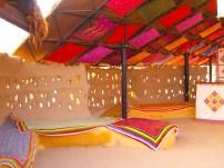 Reception sitting Shaam-e-Sarhad Village Resort Kutch Gujarat