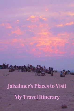 Jaisalmer's Places to Visit Sand Dunes