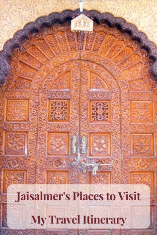 Jaisalmer's Places to Visit Gate