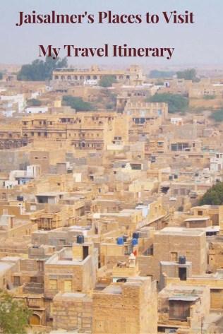 Jaisalmer's Places to Visit