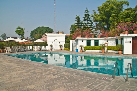 Shankar Hotel Kathmandu swimming pool