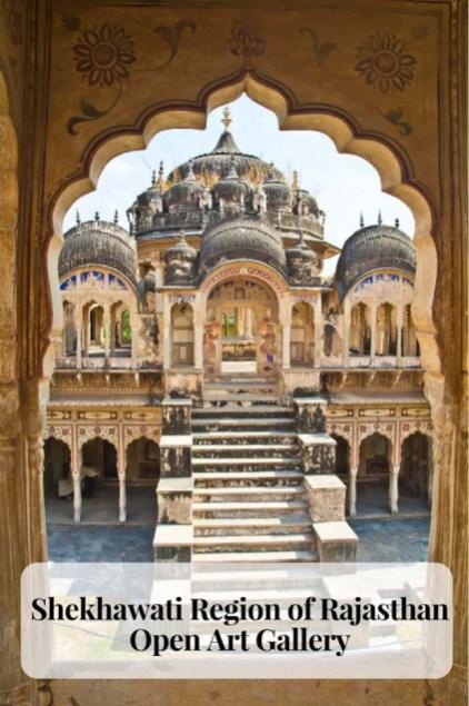 Shekhawati Region of Rajasthan - Open Art Gallery