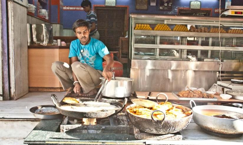 Mallpua in Pushkar