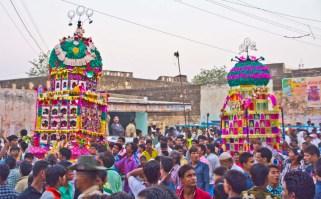 Moharram Tajias in Ramgarh