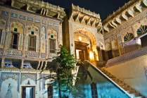 Ramgarh Fresco stairs