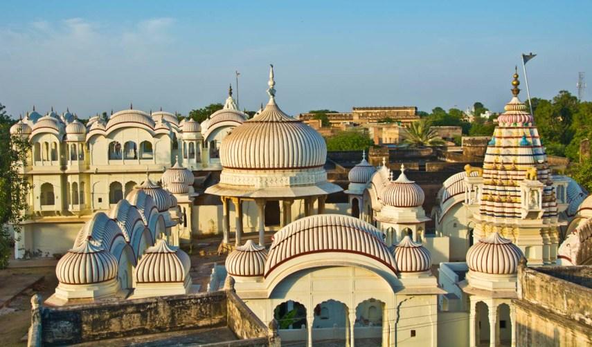 Shekhawati region of Rajasthan - Nawalgarh temple