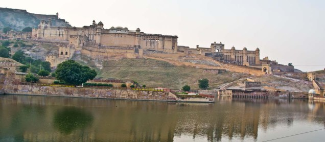 Amer fort jaipur from outside