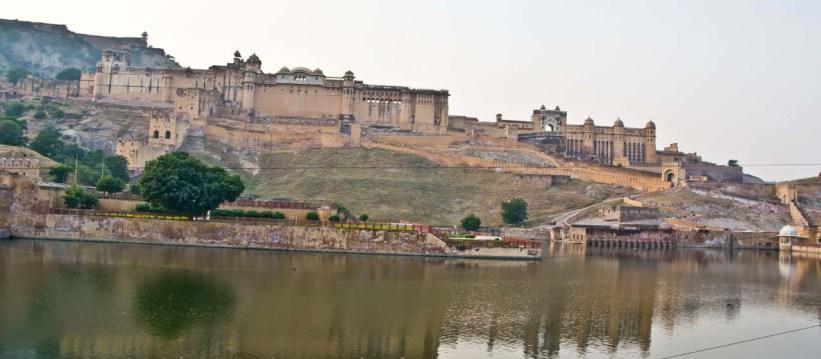 Amer fort jaipur from outside