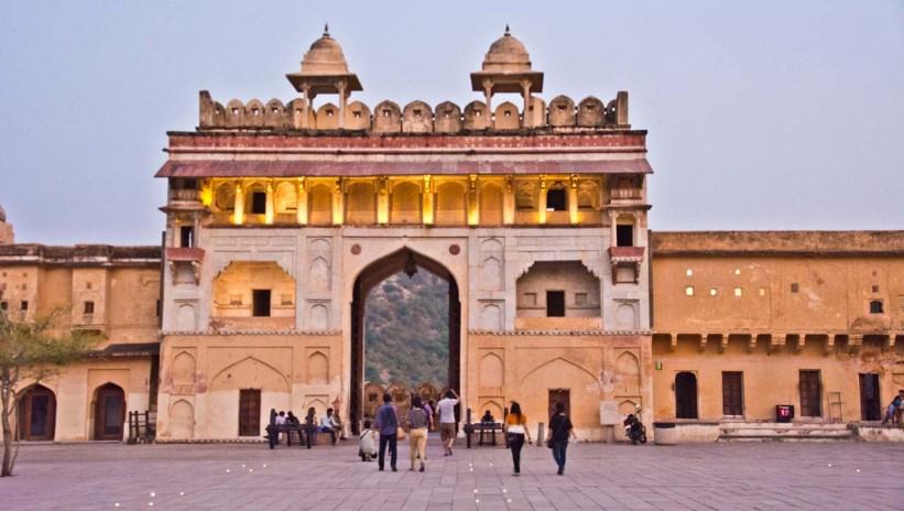 Gate at Amber fort jaipur