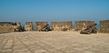 Canons in Diu Fort