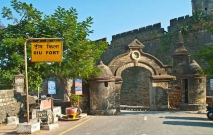Diu island Fort gate