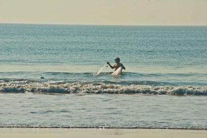 Fisherman at Ghogla beach Diu