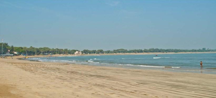Nagoa beach overview diu island