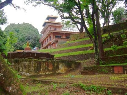 Outside Bindhyabasini temple Pokhara Nepal