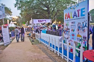 Palate fest grounds