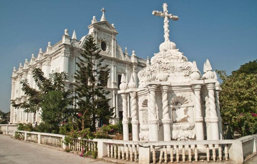 St Paul's church Diu