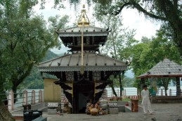 Varahi temple in Phewa Lake Pokara