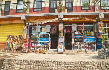 Nagarkot Nepal village shop