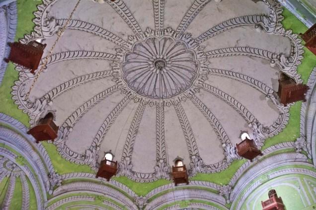 Bara Imambara roof from inside