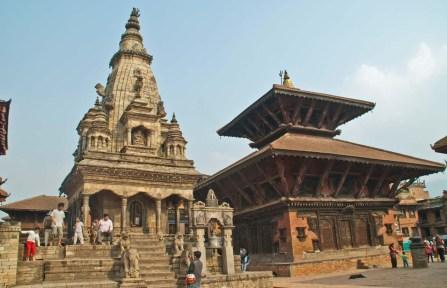 Bhaktapur Durbar Square temples