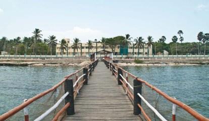 Boating jetty Rameshwaram