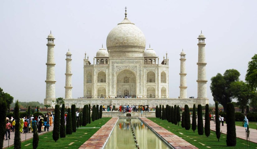 Pictures from India - Taj Mahal Agra
