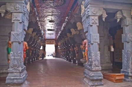 Entry to Ramanathaswamy temple