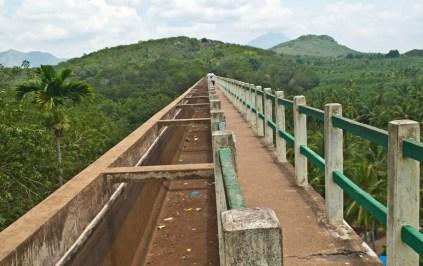 Mathur Hanging bridge view Kanyakumari