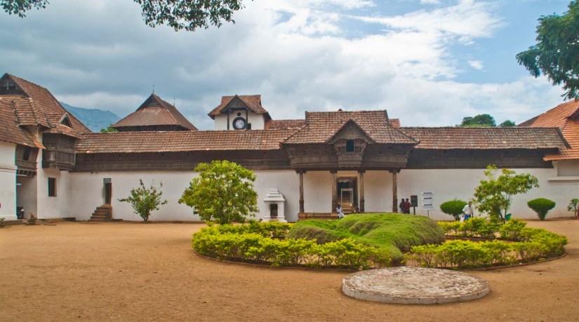 Padmanabhapuram Palace compound area