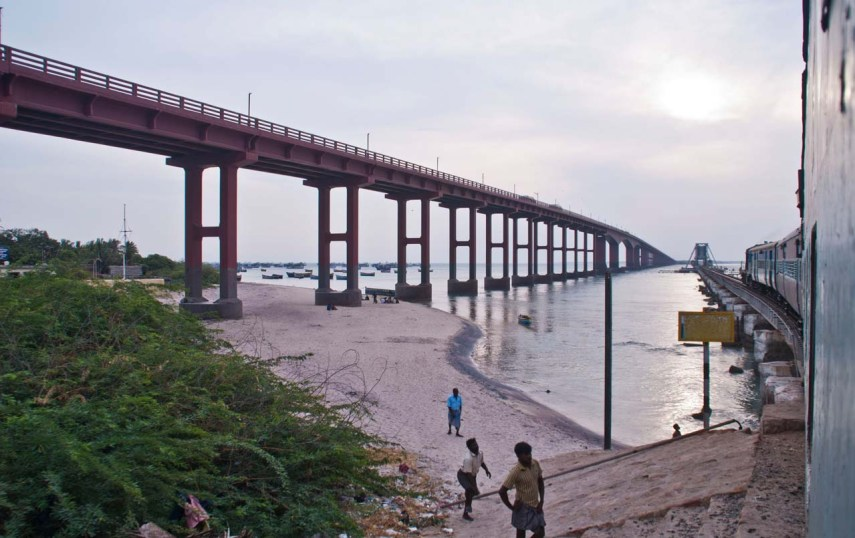 Pamban Railway Bridge Rameshwaram