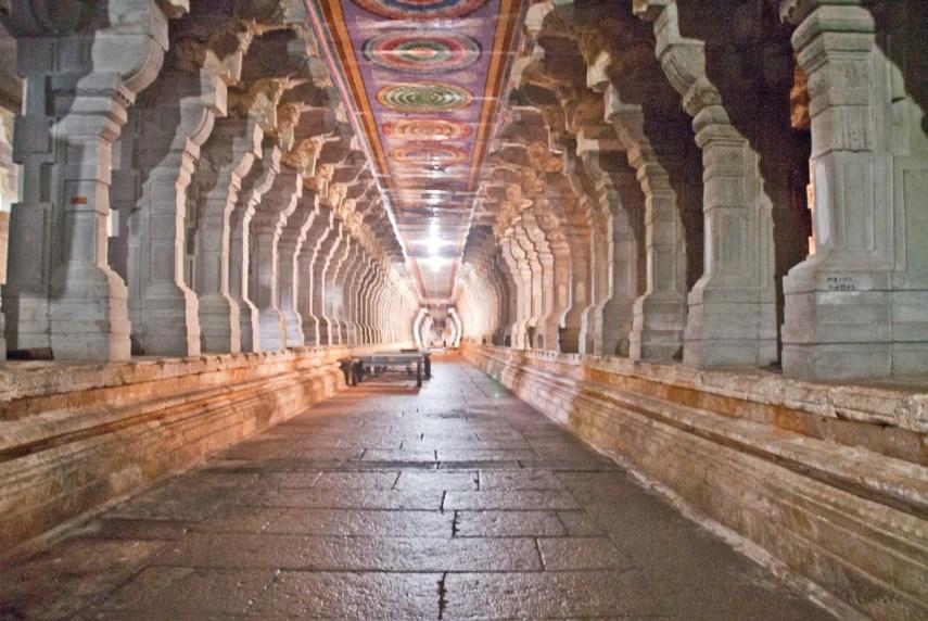 Theertham wells in Ramanathaswamy temple Rameshwaram Corridors