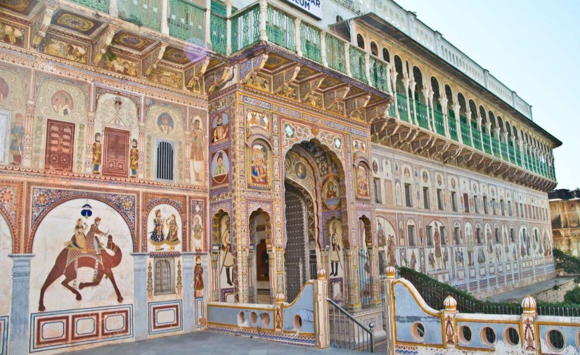 Pictures from India - Frescos and Haveli's of Shekhawati