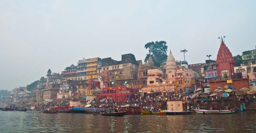 Pictures from India - Varanasi Ghats on Ganga