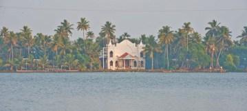 Church in the Kerala Backwaters