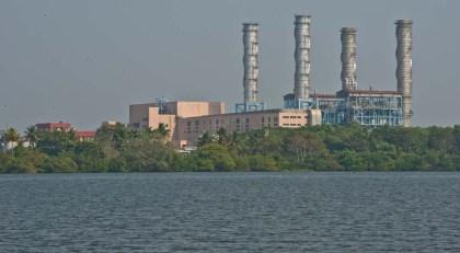 Factory in Kerala Backwaters from Alleppy to Kollam