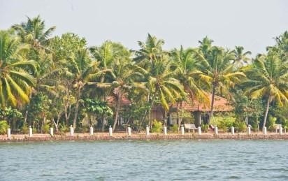 Resort in Kerala Backwaters