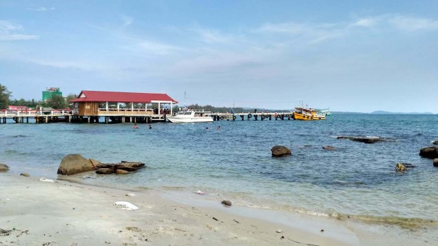 Serendipity beach jetty